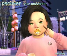 Pacifier for Toddlers. Sims Accessory for toddlers. Unisex, Category - Glasses, disabled for random. Pacifiers d. Sims 4 Children, 4 Kids, Toddler Hair Sims 4, Teenager Birthday Gifts, Sims 4 Beds, Sims 4 Gameplay, Kids Glasses, Sims 4 Cc Finds, Sims 4 Custom Content