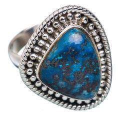 Shattuckite 925 Sterling Silver Ring Size 7 RING672786