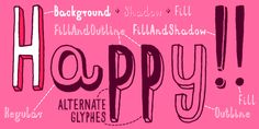 Mr Happy - Webfont & Desktop font « MyFonts