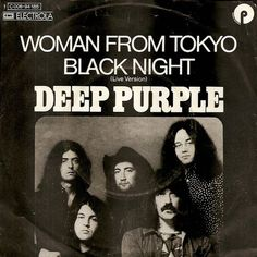 """Deep Purple, cover 7"""" single Woman From Tokyo 1973"""