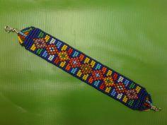 Bead Loom Patterns, Beading Patterns, Loom Bracelets, Loom Beading, Weaving, Beaded Necklace, Jewelry, Molde, Bracelets