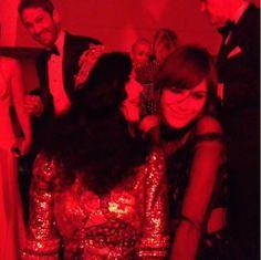 Gerard Butler, Katy Perry and Alexa Chung
