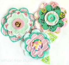 NEW Fresh Качват Цветя Jessica Handmade от LemonTreeStudio