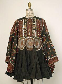 Wedding tunic / Afghan / 1875-1925 / cotton, metal