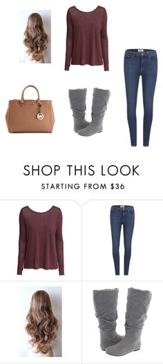 """""""Untitled #104"""" by koorbusche ❤ liked on Polyvore featuring H&M, Paige Denim, rsvp and MICHAEL Michael Kors"""