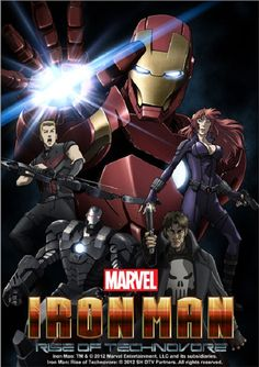 "Crunchyroll - VIDEO: Latest ""Iron Man: Rise of Technovore"" Anime OVA Trailer"