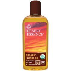 Desert Essence, Organic Jojoba Oil for Hair, Skin - Coupon code UYU611 to save up to $10 off first order