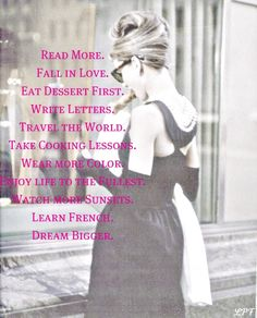 Audrey and Affirmations