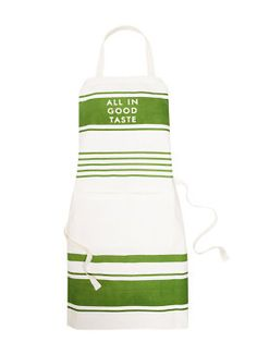 All in good Taste apron by kate spade new york