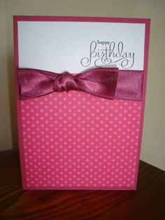 Well Scripted Birthday by stamping chick - Cards and Paper Crafts at Splitcoaststampers
