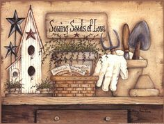 Seeds of Love Fine-Art Print by Mary Ann June at FulcrumGallery.com