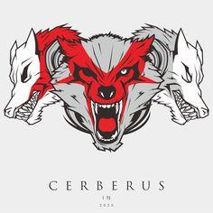 #Cerberus #illustration #vectorart