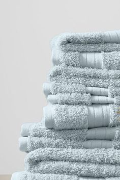 Land's End Supima cotton towels