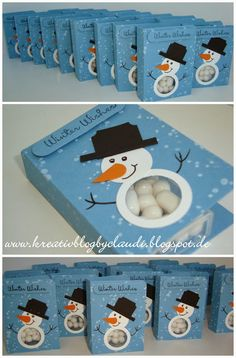.    Kreativ Blog by Claudi: Tic Tac Holder - Winter Wishes