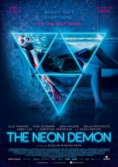 The Neon Demon directed by: Nicolas Winding Refn starring: Elle Fanning, Abbey Lee, Jena Malone, Keanu Reeves The Neon Demon, Jena Malone, Movies 2019, Hd Movies, Movie Tv, 2016 Movies, Prime Movies, Netflix Movies, Movies Online