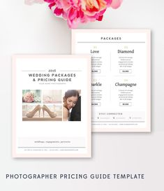 Price List Templates Photography Price List Template Photographer Pricing Guide .