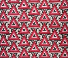 Ornament on fabric. Industrialization. Approx. 1930. From Album of Ivanovo Textile Factory's Propaganda Textiles, Textile Drawings and Sketches.