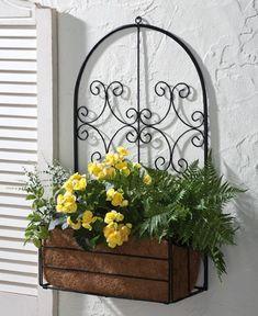 Richmond Decorative Scroll Box Outdoor Plant Holder