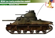 M3A4 Lee (early production model)