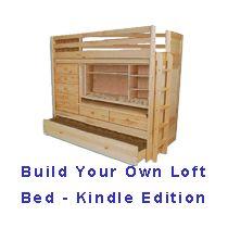 Loft Bed Plans - Space Savers - Part 2