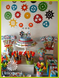 Dimequesi 's Birthday / Transformers - Coloful Transformers rescue boots candy bar at Catch My Party Transformer Party, Transformers Birthday Parties, 4th Birthday Parties, Birthday Ideas, 3rd Birthday, Rescue Bots Birthday, Holiday Parties, Party Planning, Party Time