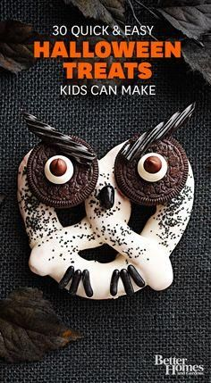 Halloween Treats the kids can help with!