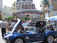 Hot August Nights is a week-long celebration of the 1950's, '60's, and '70's cars and rock & roll that happens here in Reno every year in August. It is my favorite event, one of many annual events that happens all summer long in the Reno / Sparks area.