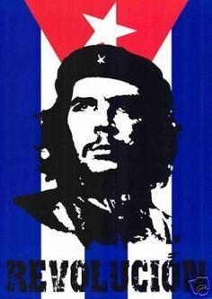 Che Guevara Poster - Famous Revolucion 24x36 Revolution