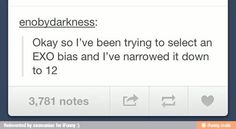 My exo bias list