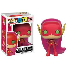 Starfire as the Flash from the Teen Titans Go tv series in this episode the Teen Titans steal the Justice League costumes  Brought to you by Pop In A Box, the site Funko Pop! Vinyl shop