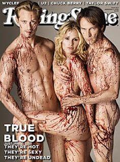True Blood. Can't wait until it starts up again.