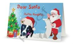 10 Pup Scouts  Christmas Cards