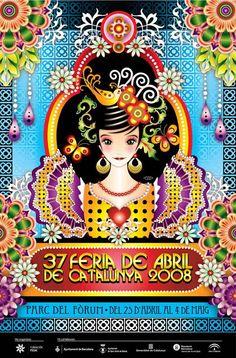 Cartel Feria Abril Catalina Estrada