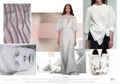 TRENDS // SPIN EXPO - COLOR AND MATERIALS/SEGMENTED WHITES . S/S 2017 (FASHION…