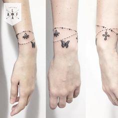 Brazaletes que tienes que tatuarte en algún punto de tu vida