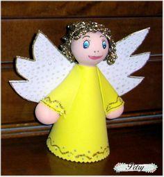 Angel navideño. www.petry.es