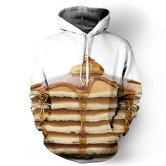 Let's kick this off with a delicious stack of pancakes. | 22 Shirts That Will Make You Hungry