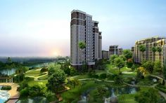 The best habitat to protect you from all calamities in Supertech Eco Village 4 located in well-designed city Noida Extension. Architecture Wallpaper, City Architecture, Amazing Architecture, Ancient Architecture, Cgi, 1366x768 Wallpaper, Second Empire, High Resolution Wallpapers, Smart City