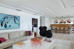 Apartamento em São Conrado, na zona Sul do Rio - arquitetas Roberta Moura, Paula Faria e Luciana Mambrini