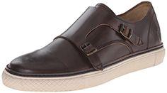 FRYE Men's Gatesdouble Monk-Strap Fashion Sneaker FRYE…