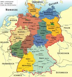 Did you know that there is a lot to discover in good old Germany? Many US citizens have german ancestry and need to research in the Bundesrepublik Deutschland (Germany). There is much to know if yo… History Of Germany, Black Forest Germany, German Language Learning, Photo Maps, Voyage Europe, Learn German, Germany Travel, Family History, Genealogy