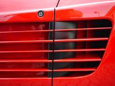 Ferrari Testarossa Art Print Ferrari car auto sportscar red #Ferrari #car #auto #sportscar #red