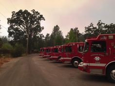 CAL FIRE/Riverside County eng are part of Strike Teams deployed to assist in the N. CA fire siege. Credit Dan Harris