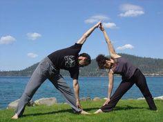 127 best motherdaughter yoga images  yoga partner yoga
