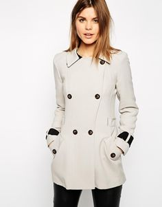 Enlarge Warehouse Crepe Reefer Coat