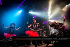 GALLERY: Babymetal collide with Dragonforce at Download