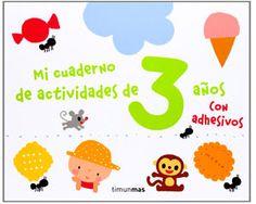 cuaderno de actividades Manzanita, Education, Maths, Words, School, Fictional Characters, Animals, 3 Year Old Activities, Activity Books