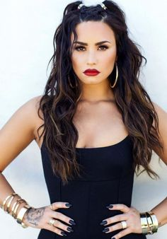 Image about pretty in Demi Lovato by Ro Cabrera Demi Lovato Style, Demi Lovato Makeup, Demi Love, Demi Lovato Pictures, Martina Mcbride, Essie Gel, Glamour, Celebs, Celebrities