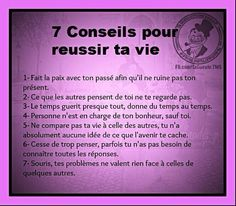 7 conseils ...
