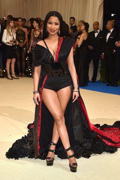 Nicki Minaj - 2017 Met Gala - HarpersBAZAAR.com